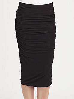 James Perse - Ruched Pencil Skirt