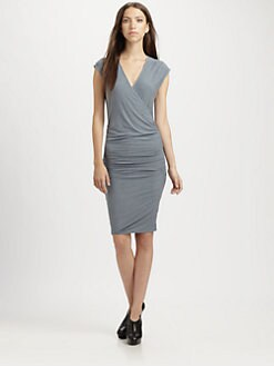 James Perse - Crossover Front Dress