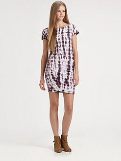 James Perse - Tie-Dyed Jersey Dress