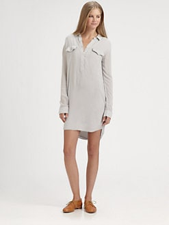 James Perse - Easy Henley Dress