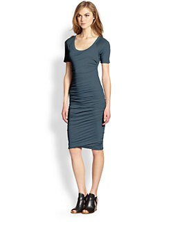 James Perse - Ruched Raglan Dress