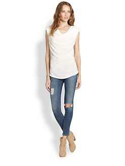 James Perse - Cowlneck Top