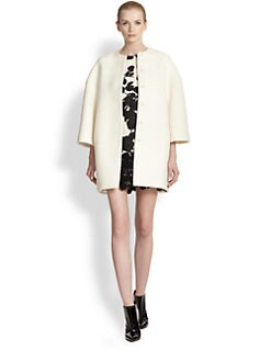 Giambattista Valli - Textured Caban Coat