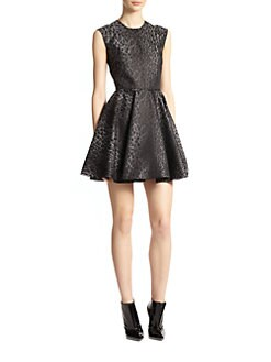 Giambattista Valli - Ocelot Jacquard Dress