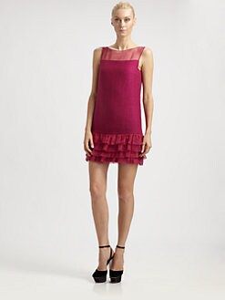 Giambattista Valli - Tiered-Hem Dress