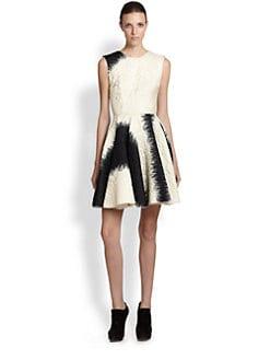 Giambattista Valli - Silk Jacquard Flare Dress