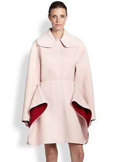 Giambattista Valli - Bicolor Flare Coat