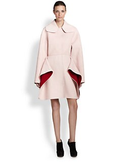 Giambattista Valli - Bicolor Flare Coat