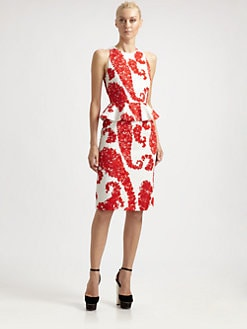 Giambattista Valli - Floral Peplum Dress