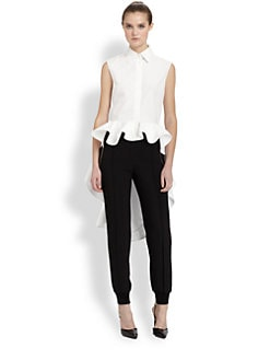 Giambattista Valli - Hi-Lo Ruffle Top