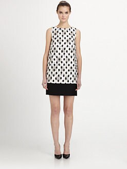 Giambattista Valli - Printed Jacquard Dress