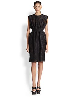 Giambattista Valli - Cloquée Banded-Waist Dress