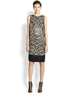 Giambattista Valli - Embossed-Hem Dress