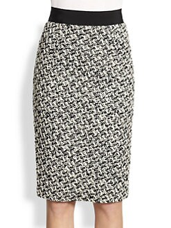 Giambattista Valli - Tweed Pencil Skirt
