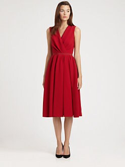 Giambattista Valli - Wrap-Front Dress