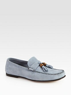 Gucci - Balen Suede Moccasin