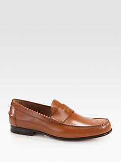Gucci - Uden Leather College Moccasin