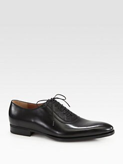 Gucci - Noort Leather Lace-Up