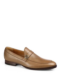 Gucci - Bouts Acero Leather Formal Moccasin