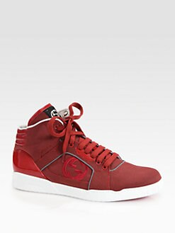 Gucci - Rebound Mid High-Top Sneakers