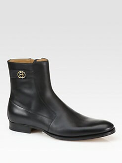 Gucci - Leather Boot