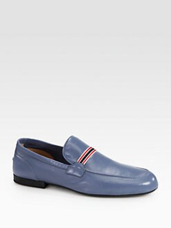 Gucci - Kessel Soft Leather Moccasin