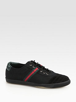 Gucci - VB77 Canvas Low-Top Sneakers
