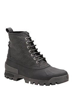 Gucci - Lace-Up Boot