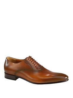 Gucci - Kir Burnished Lace Ups