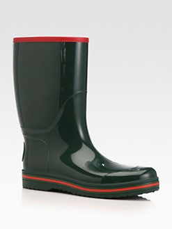 Gucci - Rubber Rain Boot
