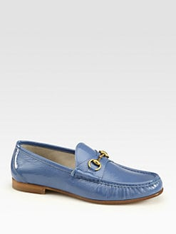 Gucci - Patent Leather Horsebit Loafer
