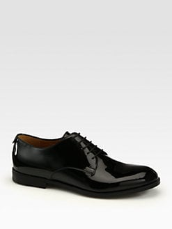 Gucci - Patent Lace-Up