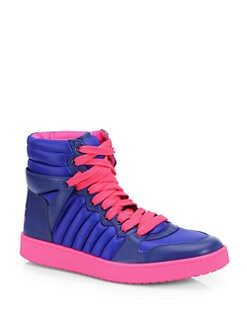 Gucci - Hudson High-Top Sneakers