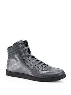 Gucci - GG Imprime High-Top Sneakers