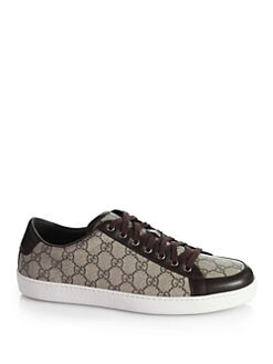 Gucci - Brooklyn GG Lace-Up Sneakers