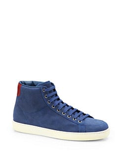 Gucci - Brooklyn High-Top Sneakers