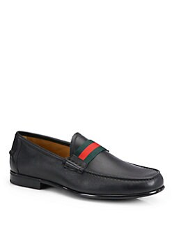 Gucci - Frederik Leather Loafers