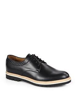 Gucci - Galdor Leather Lace-Ups