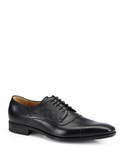 Gucci - Leven Cap Toe Lace-Ups