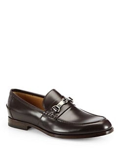 Gucci - Taras Leather Horsebit Loafer