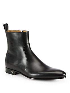 Gucci - Faramir Leather Boot