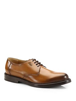 Gucci - Ragona Cuir Leather Lace-Up