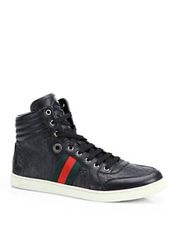 Gucci - Guccissima High-Top Sneakers