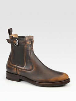 Gucci - Royer Buckle Bootie