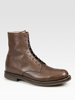 Gucci - Daumier Lace-Up Military Boot