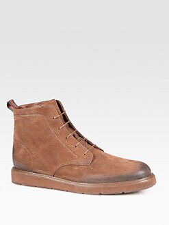Gucci - Odeon Rugged Lace-Up Boot