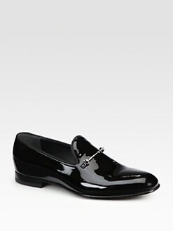 Gucci - Tissot Patent Leather Moccasin