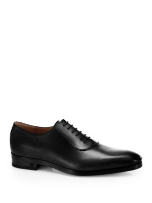 gucci male vintageinspired shaded leather oxfords