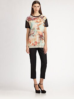 Jean Paul Gaultier - Floral Tee
