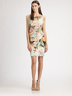 Jean Paul Gaultier - Blouson Floral Dress
